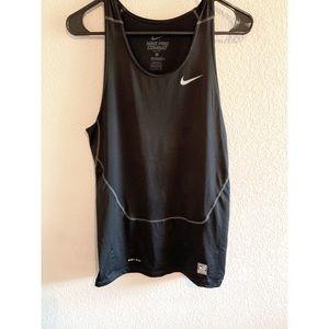 Nike Black women's dri fit tank - size L